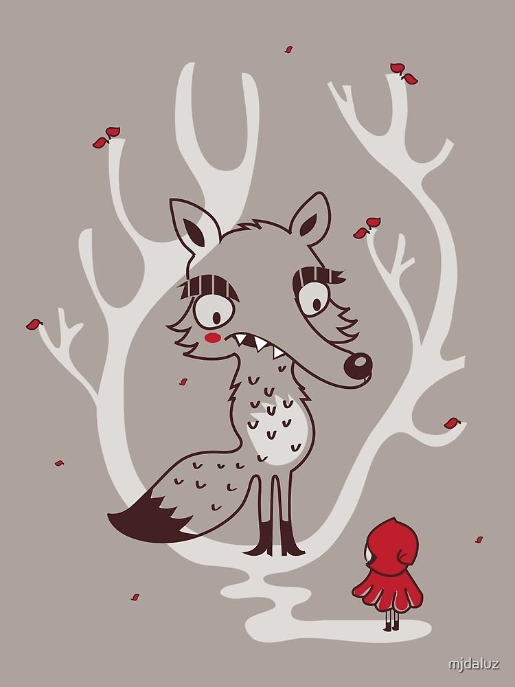 Hello big wolf by mjdaluz