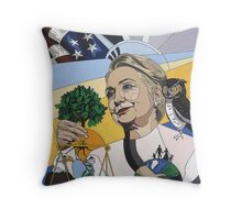 Hillary for President Throw Pillow