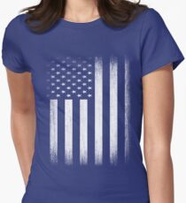 Grunge Look American Flag T-Shirt