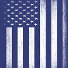 Grunge Look American Flag by EthosWear