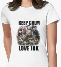 Keep Calm and Love 10K - Z Nation Shirt Women's Fitted T-Shirt