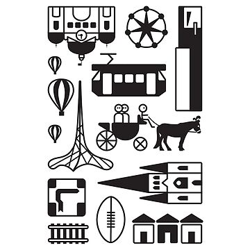 Icons of Melbourne by creativeproject