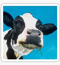 Margot - The Relaxed Cow Sticker