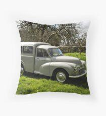 the Bee Keeper's Van Throw Pillow