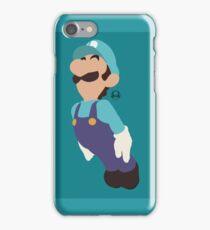 Luigi (Blue) - Super Smash Bros. iPhone Case/Skin