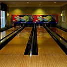 Bowling After Hours by LeftHandPrints