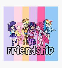 ~Friendship~ Photographic Print