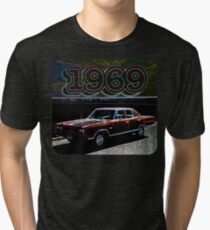 1969 Retro Colors Tri-blend T-Shirt
