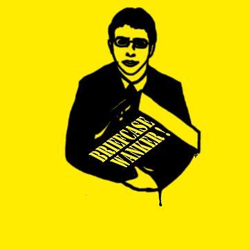 The Inbetweeners -  Briefcase Wanker by bleedart