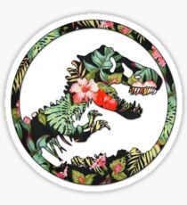 Jurassic Floral 2 | The Lost Design Sticker