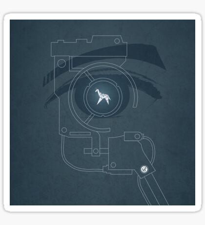 BLADE RUNNER (Voight Kampf Test Version) Sticker