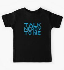 talk nerdy to me Kids Clothes