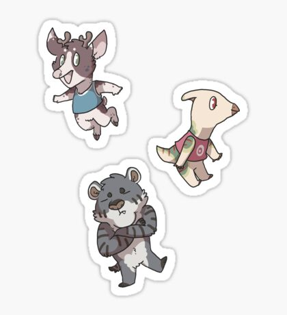 Villagers 2 Sticker