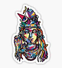 Shiva the God Sticker