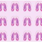 Pink Ballet shoes by goanna