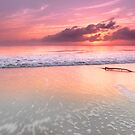 Woorim Sunrise - Bribie Island Qld Australia by Beth  Wode