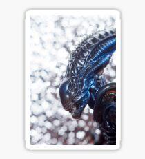 Alien from sci-fi movie Sticker