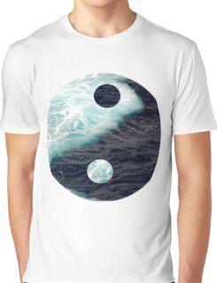 Sea Yin Yang Graphic T-Shirt