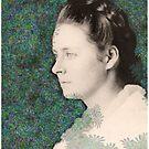 Annie Hall - digital portrait of a lady by goanna