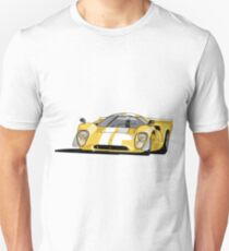 Lola T70 MKIII - Yellow Unisex T-Shirt