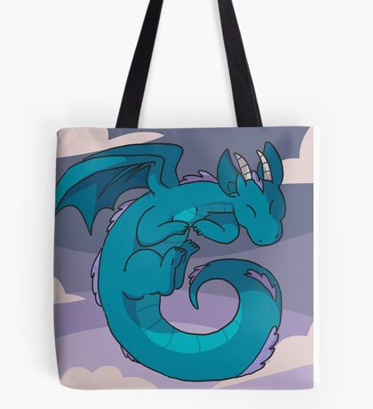 Spiral dragon Tote Bag