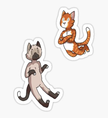 Mini Cats Sticker