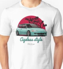 Ageless Style Civic EG (aquamarine) T-Shirt