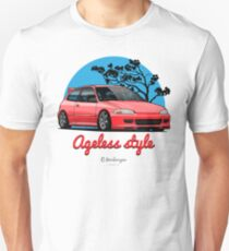 Ageless Style Civic EG (red) T-Shirt