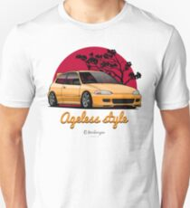 Ageless Style Civic EG (yellow) T-Shirt