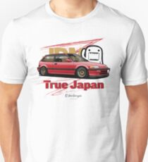 True Japan Civic EF (red) T-Shirt