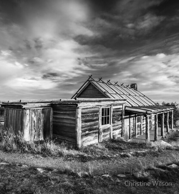 Craigs Hut  by Christine Wilson