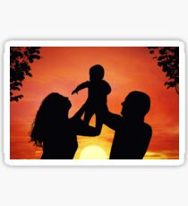 Happy family Sticker