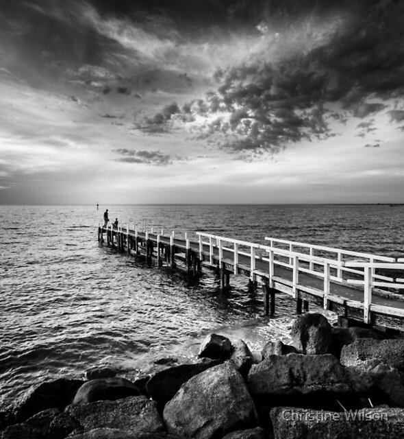 Oliver's Hill Jetty by Christine Wilson