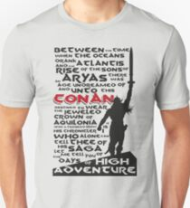 Days of High Adventure (Conan) Unisex T-Shirt