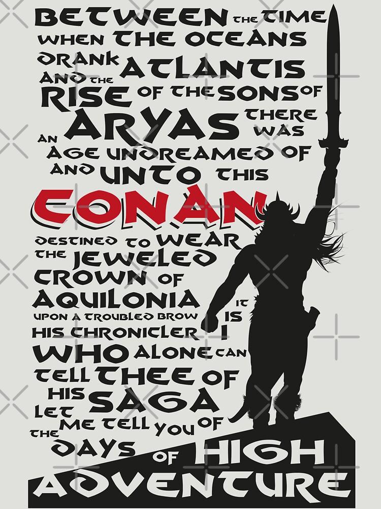 Days of High Adventure (Conan) de pocus
