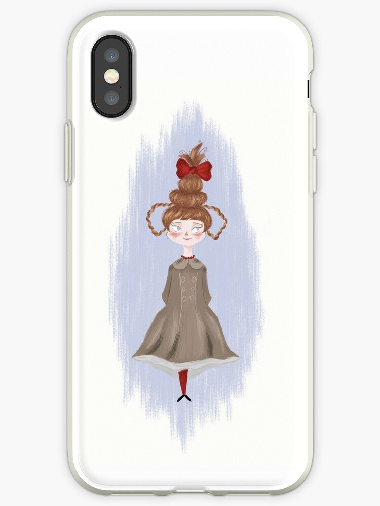 How The Grinch Stole Christmas 1966 Cindy Lou Who.Cindy Lou Who How The Grinch Stole Christmas Iphone Case By Diana Neves