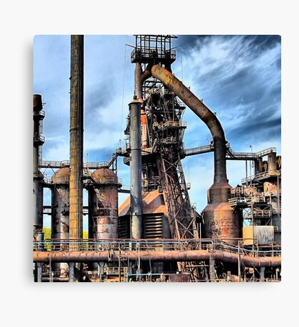 Steel Stacks - Bethlehem Pa. Canvas Print