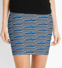 The Blue Ghost Mini Skirt