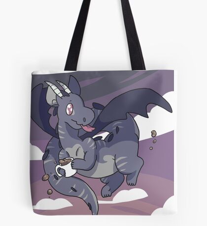 Mug Dragon Tote Bag