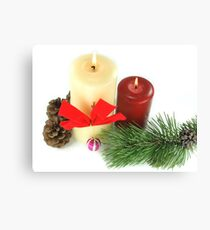 Happy Greeting Seasons Canvas Print