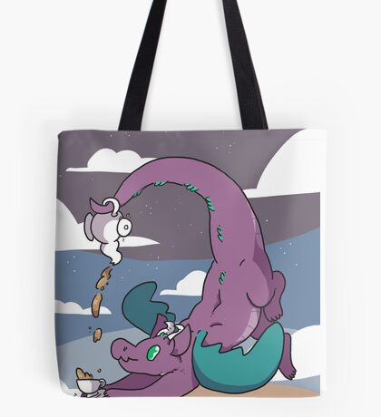 Teapot Dragon Tote Bag