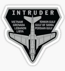 INTRUDER MISSIONS Sticker
