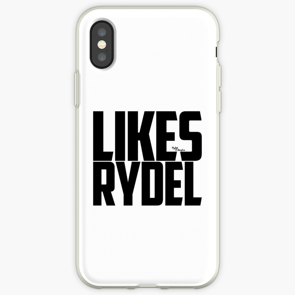 Likes Rydel - Schwarz iPhone-Hülle & Cover