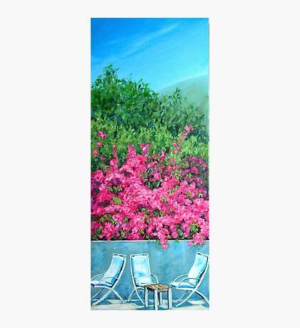 Underneath the Bougainvillea - Capri Photographic Print