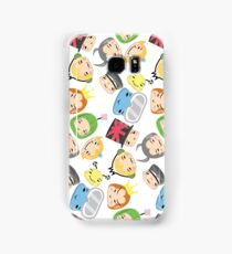 Hey! Say! JUMP Mascot Faces Samsung Galaxy Case/Skin