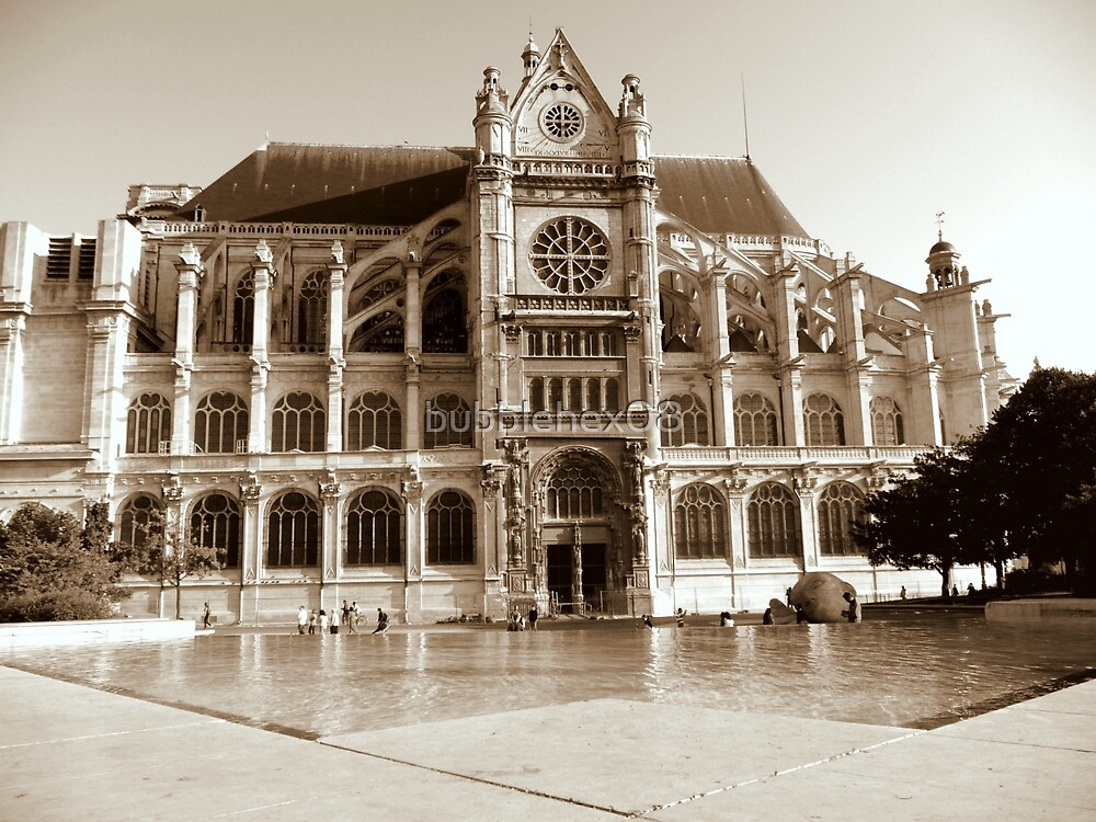Saint Eustache - Paris by bubblehex08