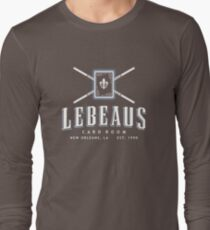 Lebeau's Card Room - New Orleans, LA Long Sleeve T-Shirt
