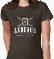 Lebeau's Card Room - New Orleans, LA Women's Fitted T-Shirt