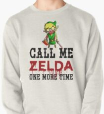 Call Me Zelda One More Time Pullover