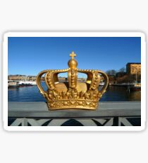 Swedish Royal Crown Sticker